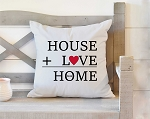 Love Home Pillow