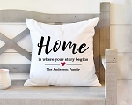 Home Story Pillow