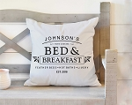 Bed & Breakfest Pillow