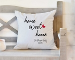Home Sweet Home Heart Pillow