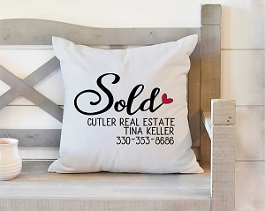 Realtor Sold Pillow